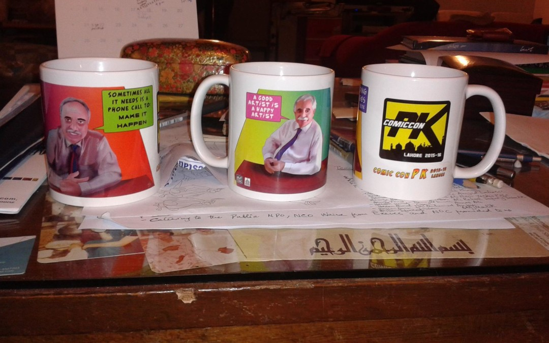 Comic Con PK New Mugs